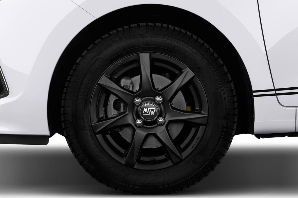 Hyundai i10 TREND Kleinwagen (2013 - heute) 5 Türen Reifen und Felge