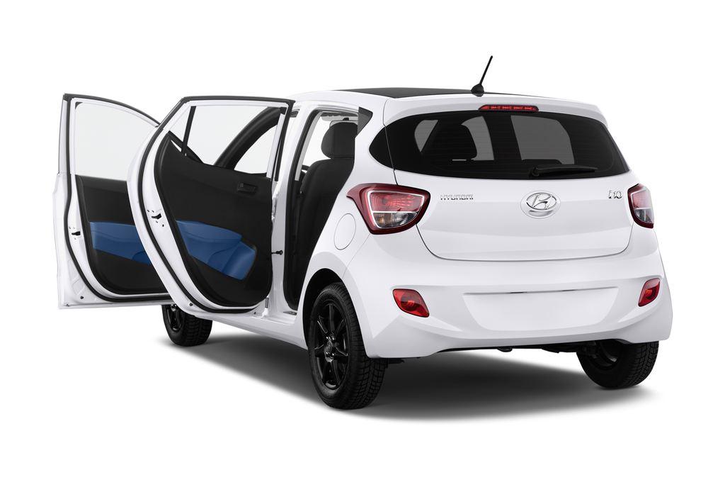 Hyundai i10 TREND Kleinwagen (2013 - heute) 5 Türen Tür geöffnet
