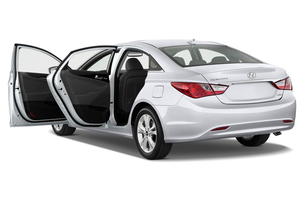 Hyundai Sonata Comfort Limousine (2005 - 2010) 4 Türen Tür geöffnet