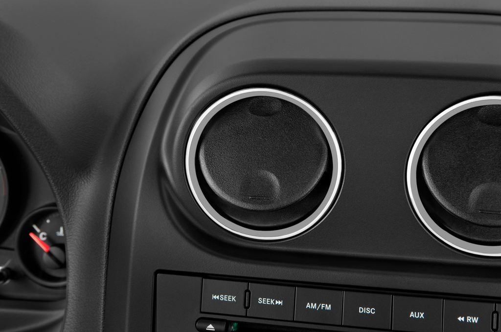Jeep Compass Sport SUV (2007 - 2016) 5 Türen Lüftung