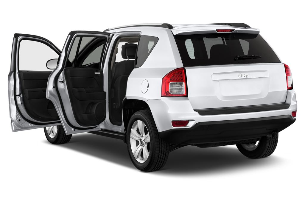 Jeep Compass Sport SUV (2007 - 2016) 5 Türen Tür geöffnet