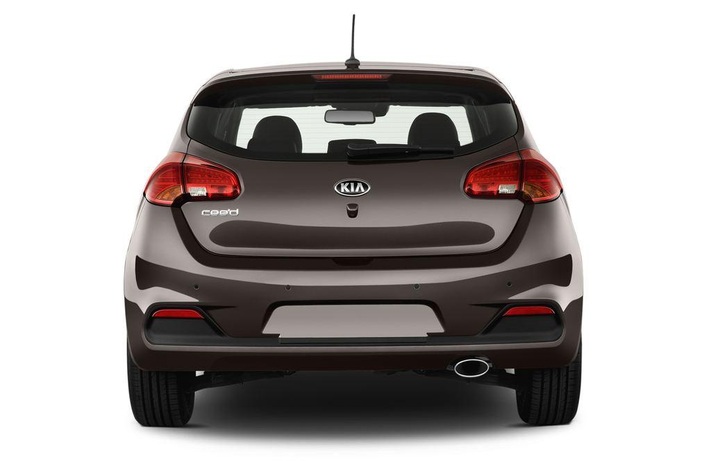 Kia Ceed Spirit Kompaktklasse (2012 - heute) 5 Türen Heckansicht
