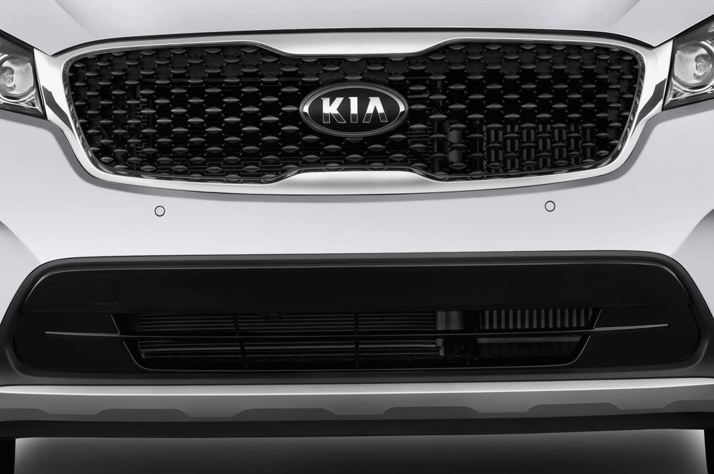 Kia Sorento Spirit SUV (2015 - heute) 5 Türen Kühlergrill und Scheinwerfer