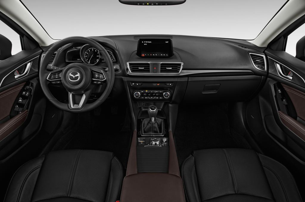 Mazda 3 Sports-Line Kompaktklasse (2013 - heute) 5 Türen Cockpit und Innenraum
