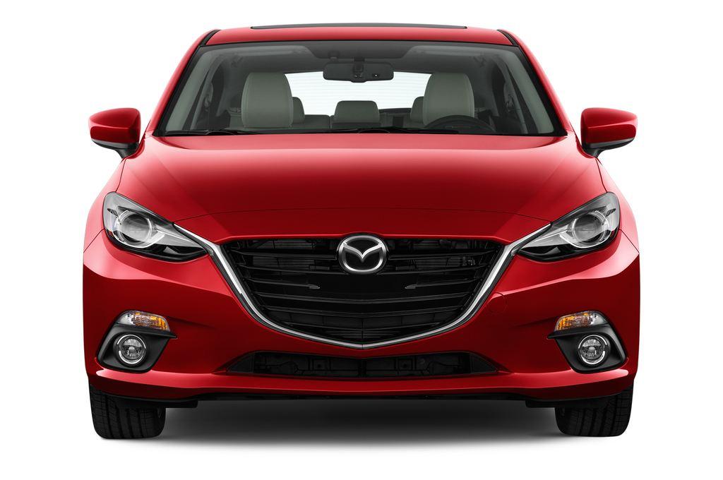Mazda 3 Sports-Line Kompaktklasse (2013 - heute) 5 Türen Frontansicht
