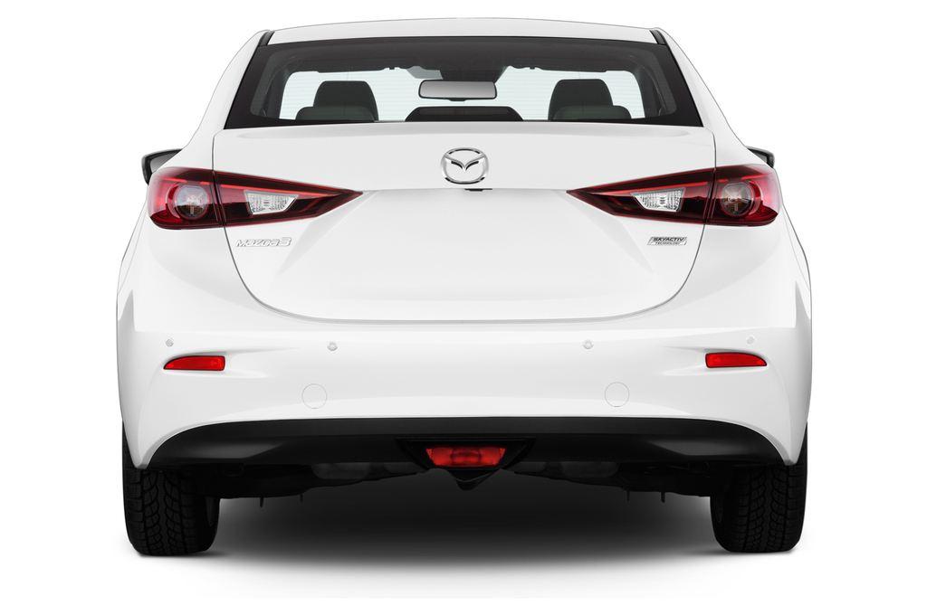 Mazda 3 Sports-Line Kompaktklasse (2013 - heute) 4 Türen Heckansicht