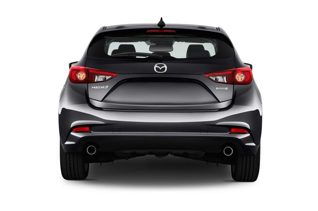 Mazda 3 Sports-Line Kompaktklasse (2013 - heute) 5 Türen Heckansicht