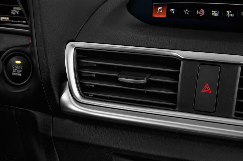 Mazda 3 Center-Line Kompaktklasse (2013 - heute) 4 Türen Lüftung