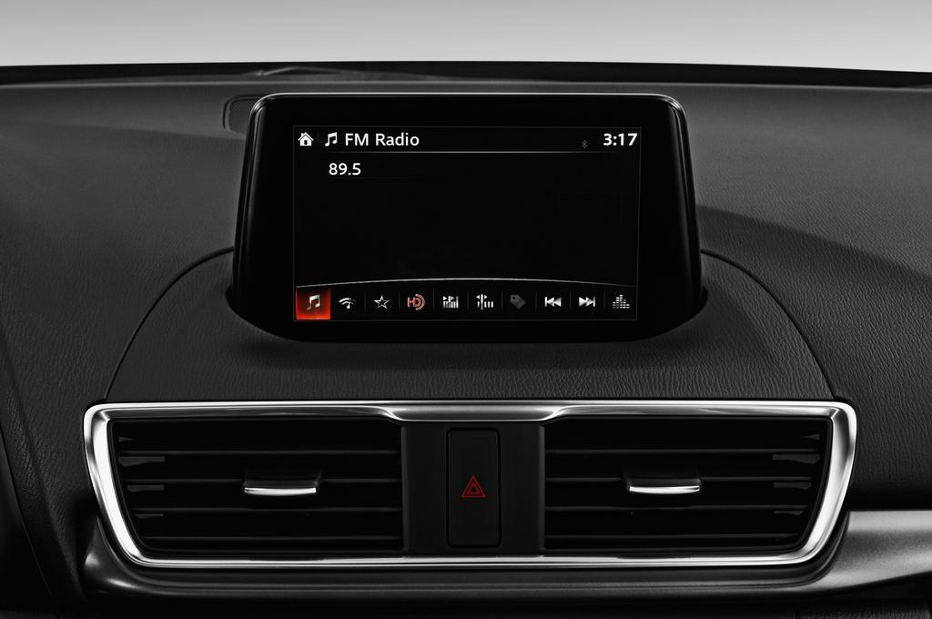Mazda 3 Sports-Line Kompaktklasse (2013 - heute) 5 Türen Radio und Infotainmentsystem