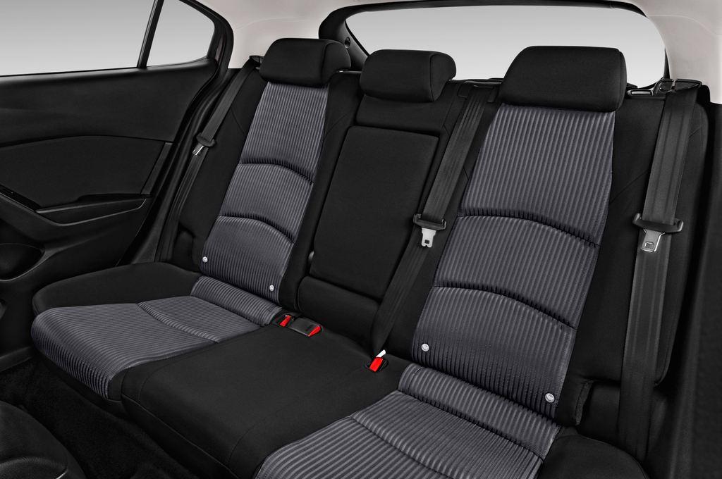 Mazda 3 Center-Line Kompaktklasse (2013 - heute) 5 Türen Rücksitze