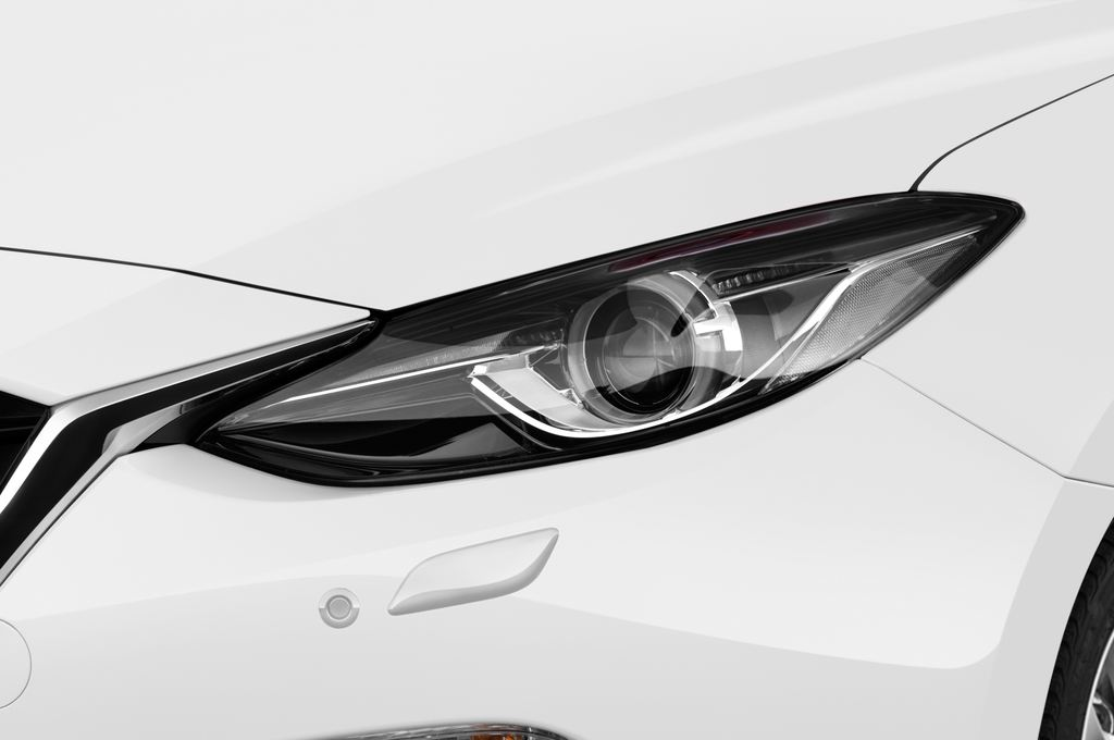 Mazda 3 Sports-Line Kompaktklasse (2013 - heute) 4 Türen Scheinwerfer