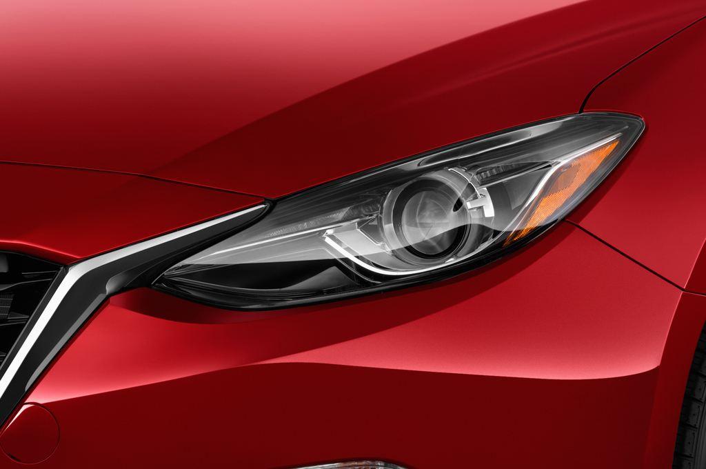 Mazda 3 Sports-Line Kompaktklasse (2013 - heute) 5 Türen Scheinwerfer