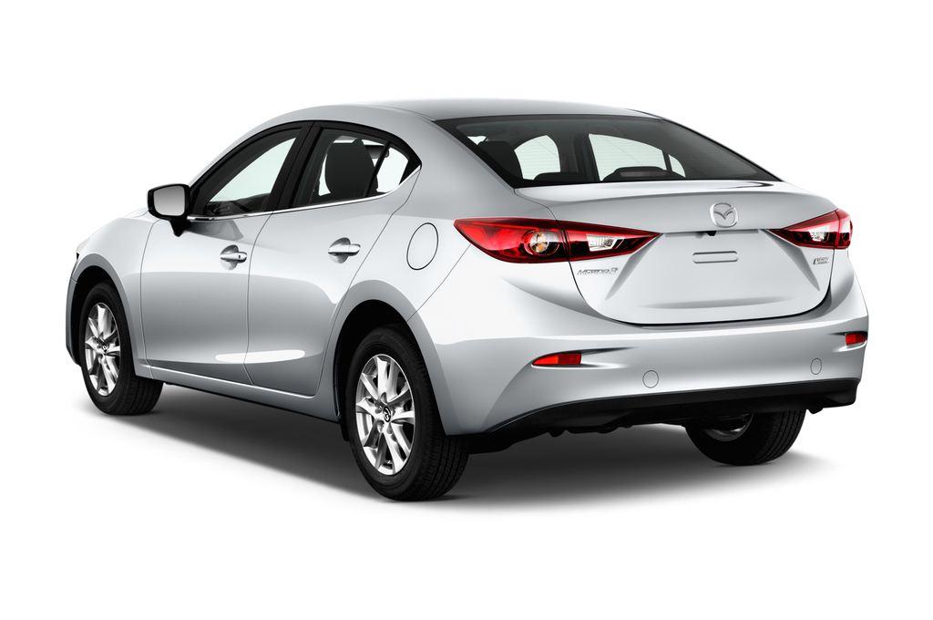 Mazda 3 Center-Line Kompaktklasse (2013 - heute) 4 Türen seitlich hinten