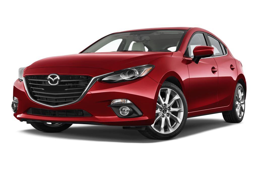Mazda 3 Sports-Line Kompaktklasse (2013 - heute) 5 Türen seitlich vorne mit Felge