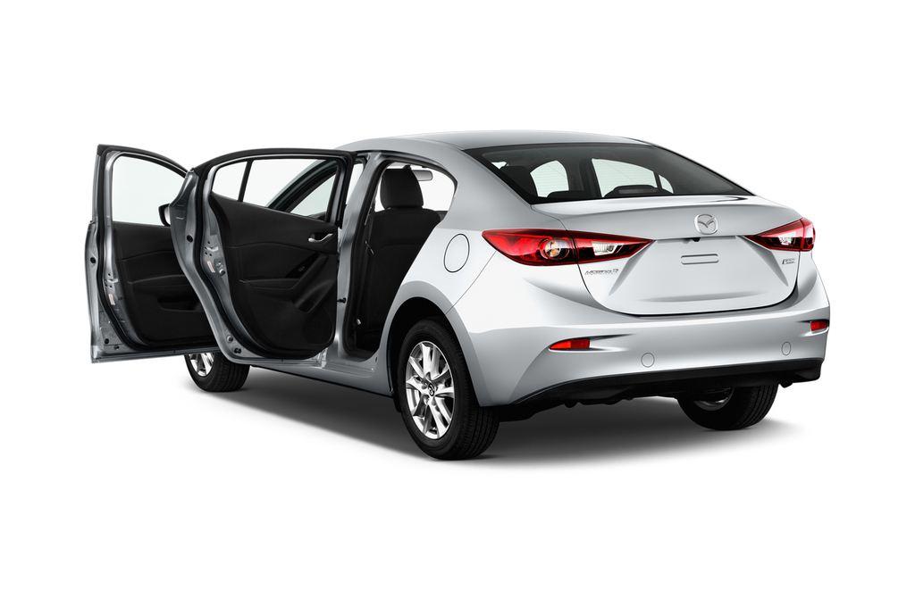 Mazda 3 Center-Line Kompaktklasse (2013 - heute) 4 Türen Tür geöffnet