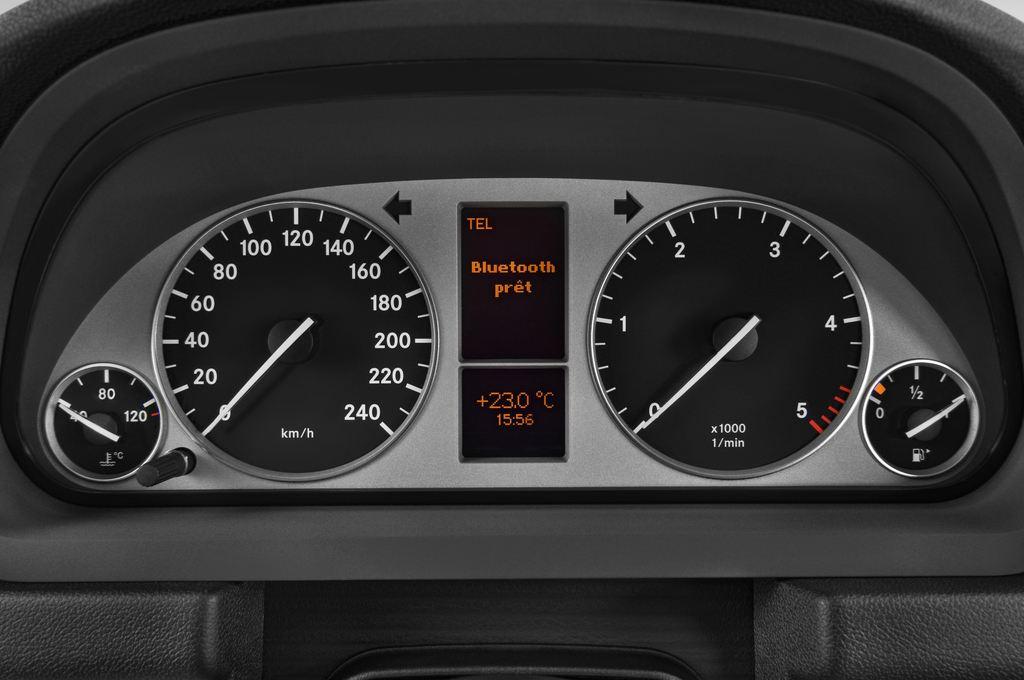 Mercedes-Benz B-Klasse - Van (2005 - 2011) 5 Türen Tacho und Fahrerinstrumente