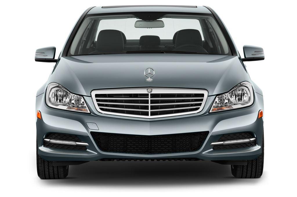 Mercedes-Benz C-Klasse Elegance Limousine (2007 - 2013) 4 Türen Frontansicht
