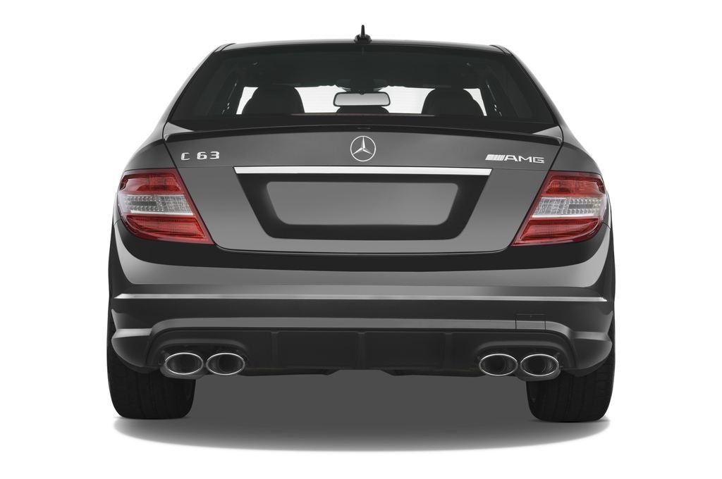 Mercedes-Benz C-Klasse AMG Limousine (2007 - 2013) 4 Türen Heckansicht