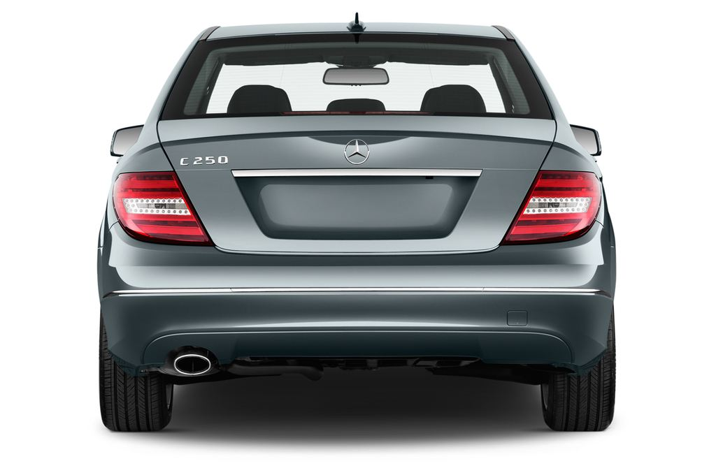 Mercedes-Benz C-Klasse Elegance Limousine (2007 - 2013) 4 Türen Heckansicht