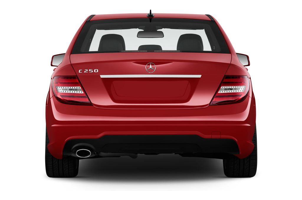 Mercedes-Benz C-Klasse Sport Limousine (2007 - 2013) 4 Türen Heckansicht