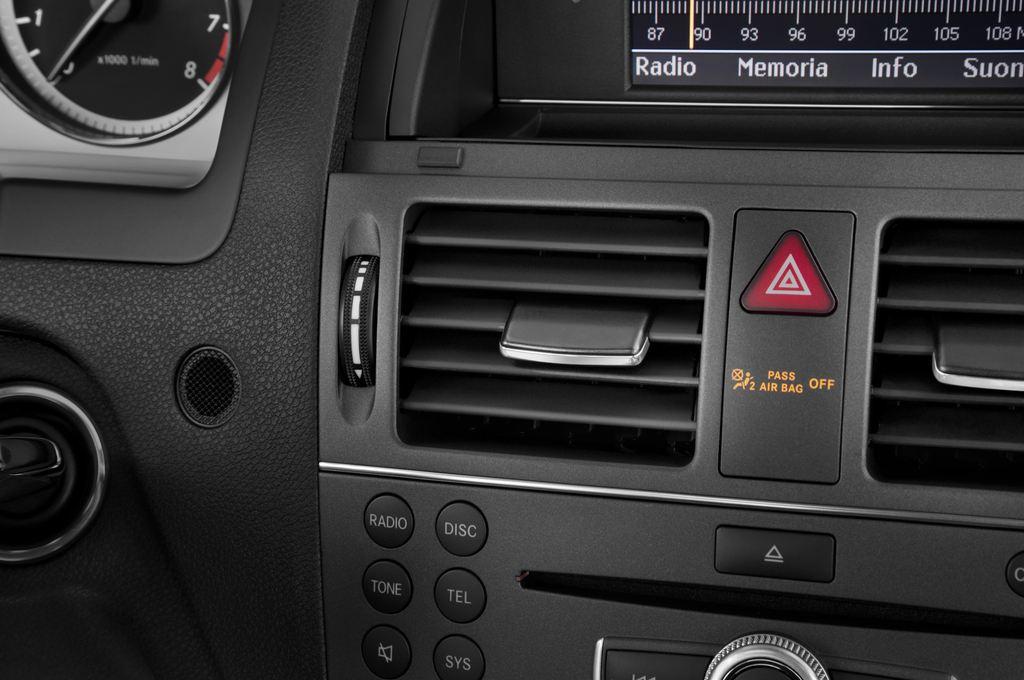 Mercedes-Benz C-Klasse Avantgarde Limousine (2007 - 2013) 4 Türen Lüftung