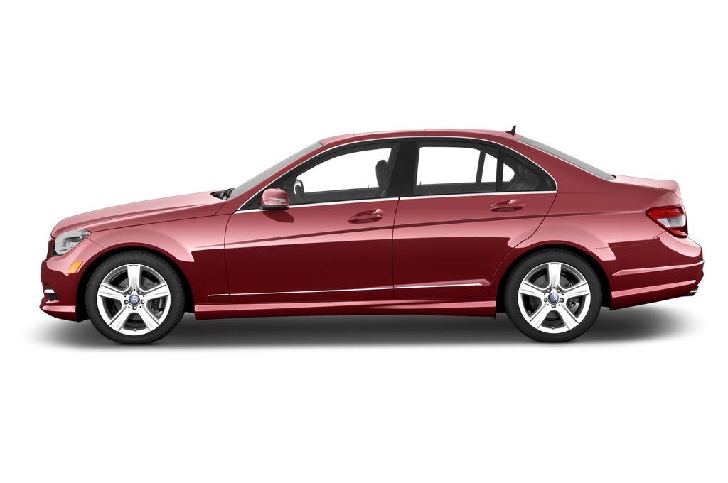 Mercedes-Benz C-Klasse Avantgarde Limousine (2007 - 2013) 4 Türen Seitenansicht