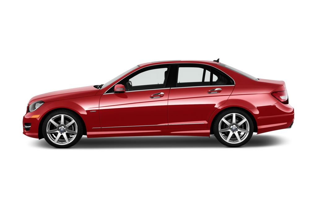 Mercedes-Benz C-Klasse Sport Limousine (2007 - 2013) 4 Türen Seitenansicht
