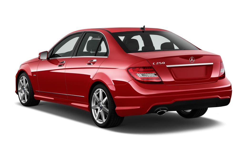 Mercedes-Benz C-Klasse Sport Limousine (2007 - 2013) 4 Türen seitlich hinten