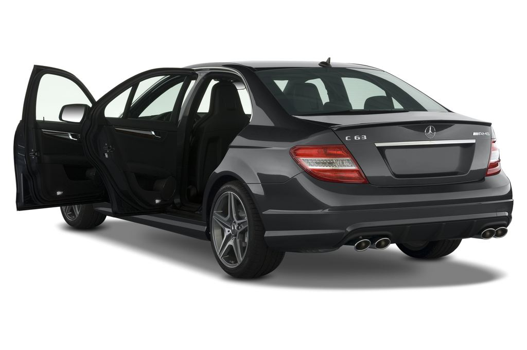 Mercedes-Benz C-Klasse AMG Limousine (2007 - 2013) 4 Türen Tür geöffnet