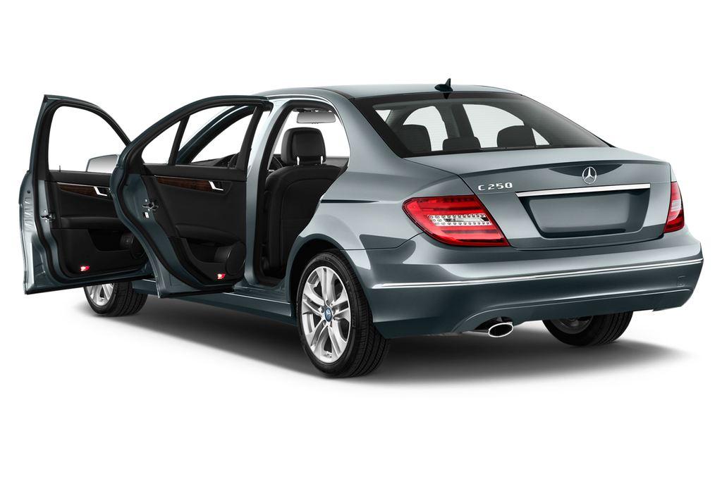Mercedes-Benz C-Klasse Elegance Limousine (2007 - 2013) 4 Türen Tür geöffnet