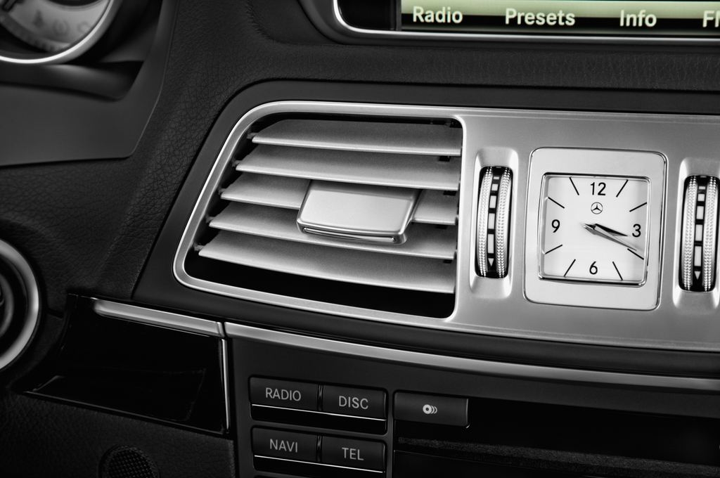 Mercedes-Benz E-Klasse - Coupé (2009 - 2016) 2 Türen Lüftung