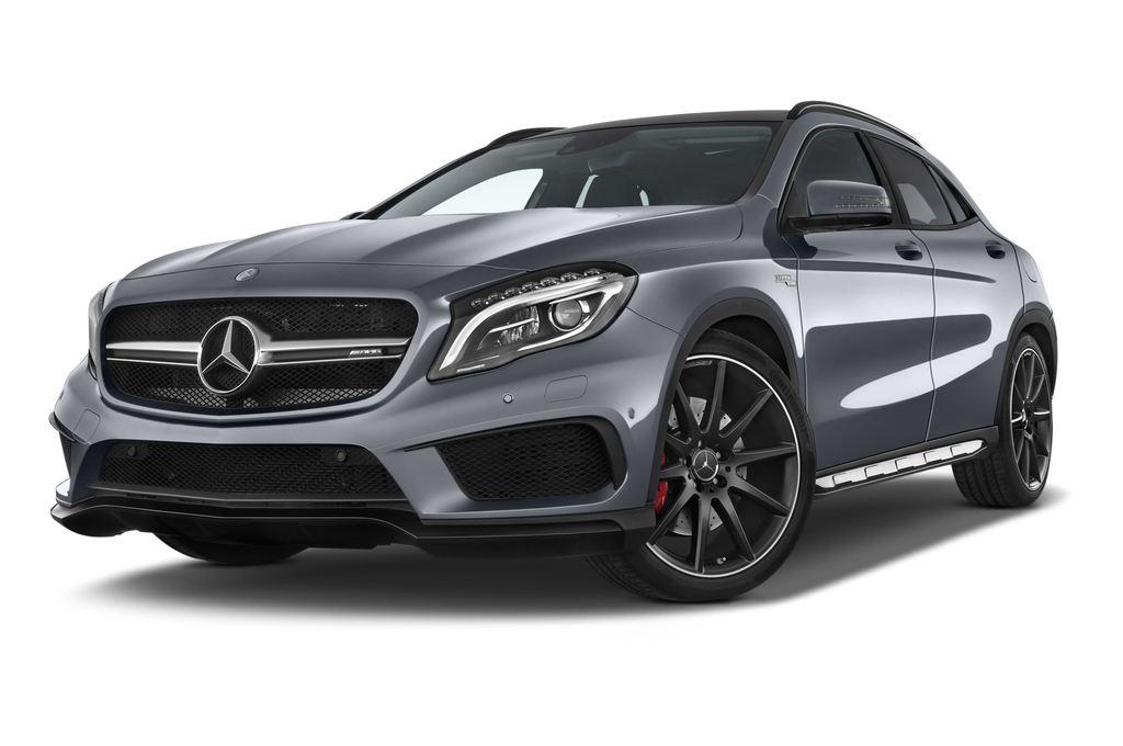 Mercedes-Benz GLA AMG SUV (2013 - heute) 5 Türen seitlich vorne mit Felge