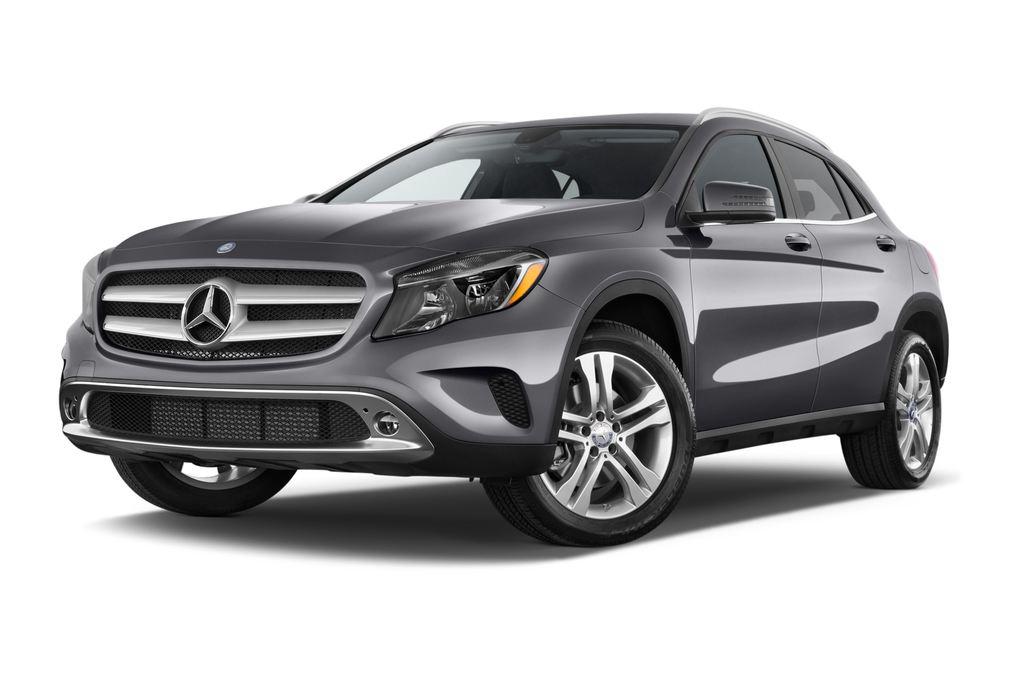 Mercedes-Benz GLA Urban SUV (2013 - heute) 5 Türen seitlich vorne mit Felge