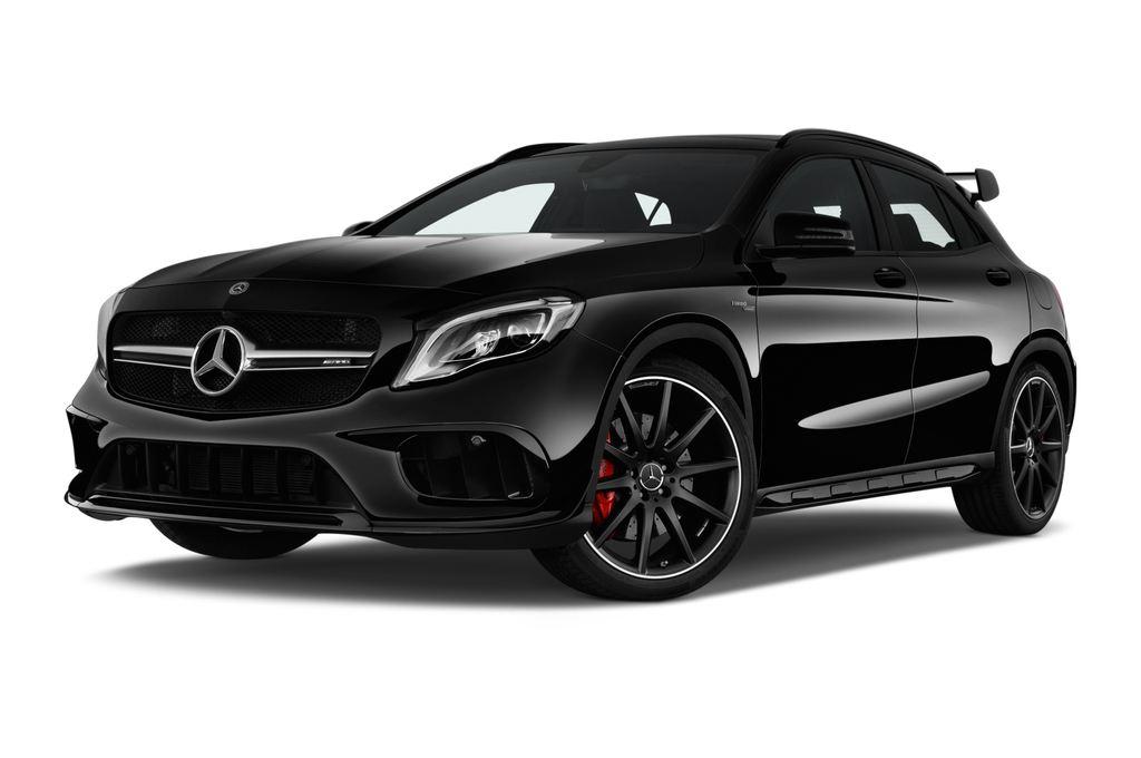 Mercedes-Benz GLA AMG 45 SUV (2013 - heute) 5 Türen seitlich vorne mit Felge