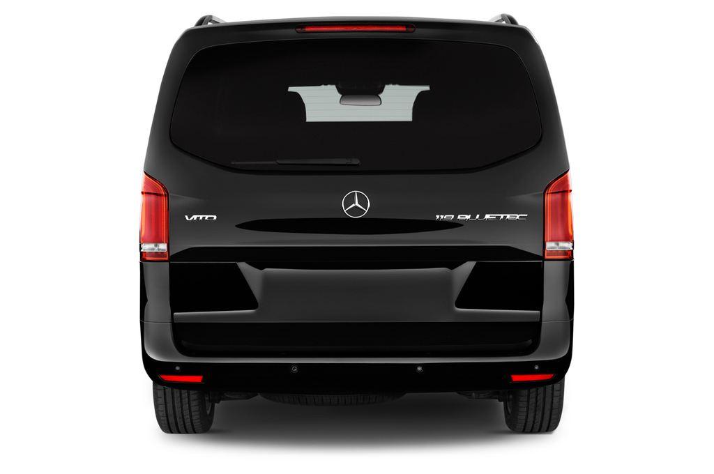 Mercedes-Benz Vito 119 Bluetec Lang Bus (2014 - heute) 5 Türen Heckansicht