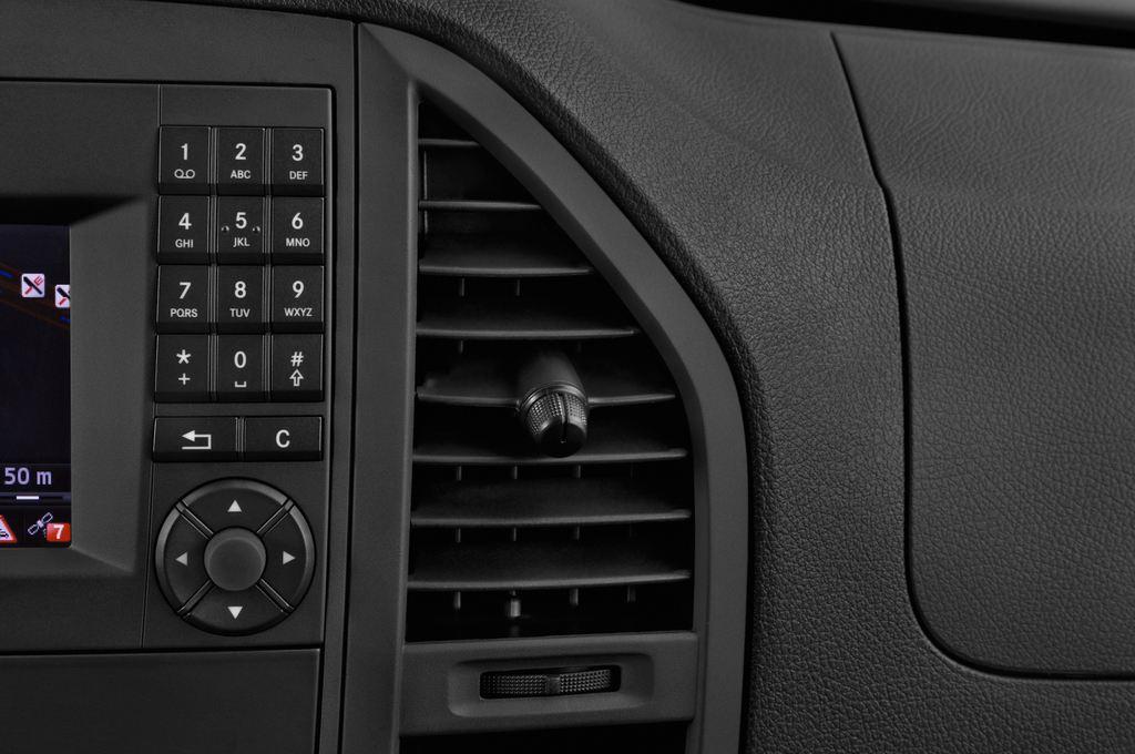 Mercedes-Benz Vito 119 Bluetec Lang Bus (2014 - heute) 5 Türen Lüftung