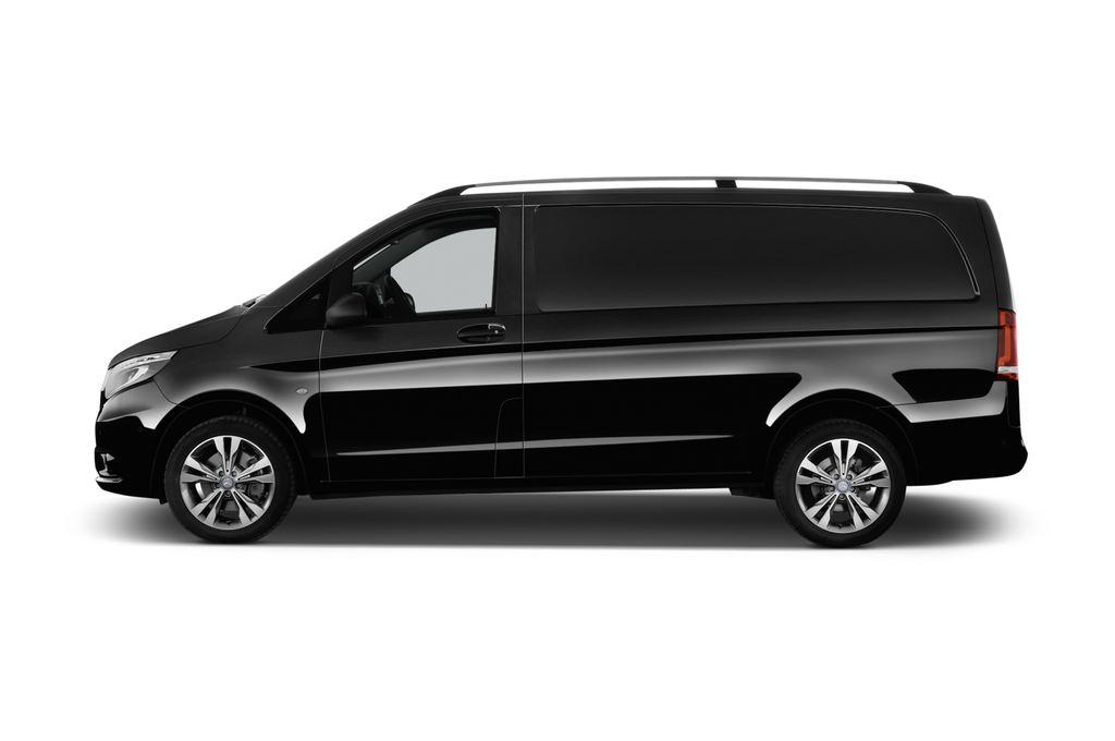 Mercedes-Benz Vito 119 Bluetec Lang Bus (2014 - heute) 5 Türen Seitenansicht