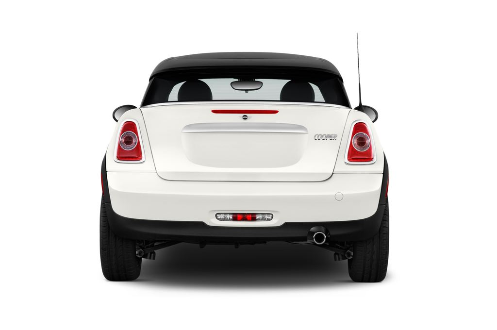 MINI Roadster Cooper Cabrio (2012 - heute) 2 Türen Heckansicht