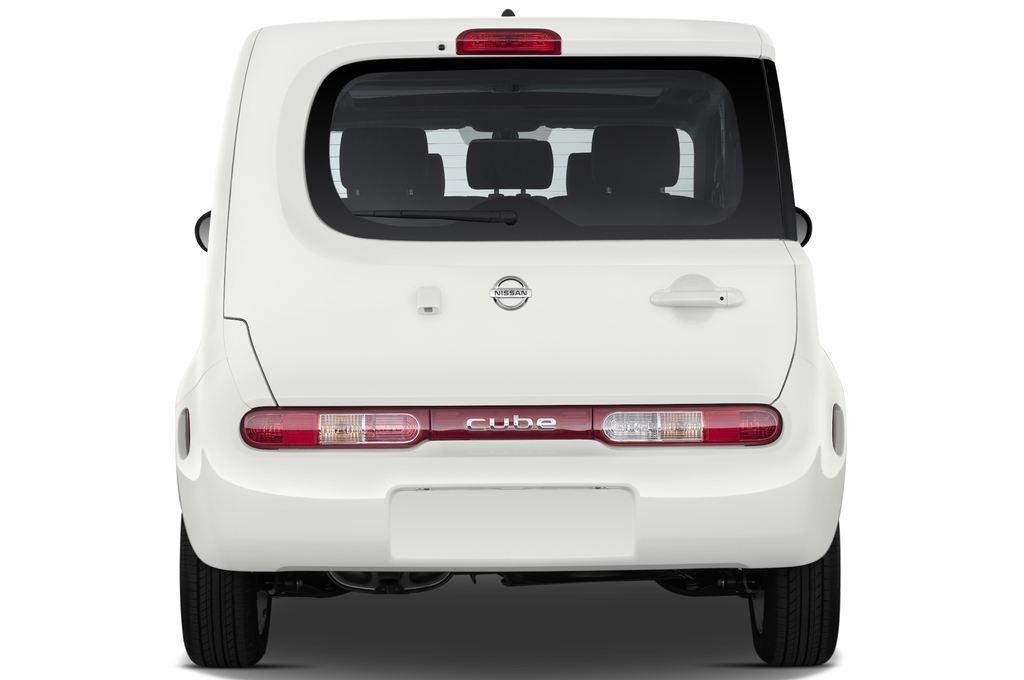 Nissan Cube Zen Van (2008 - 2011) 5 Türen Heckansicht