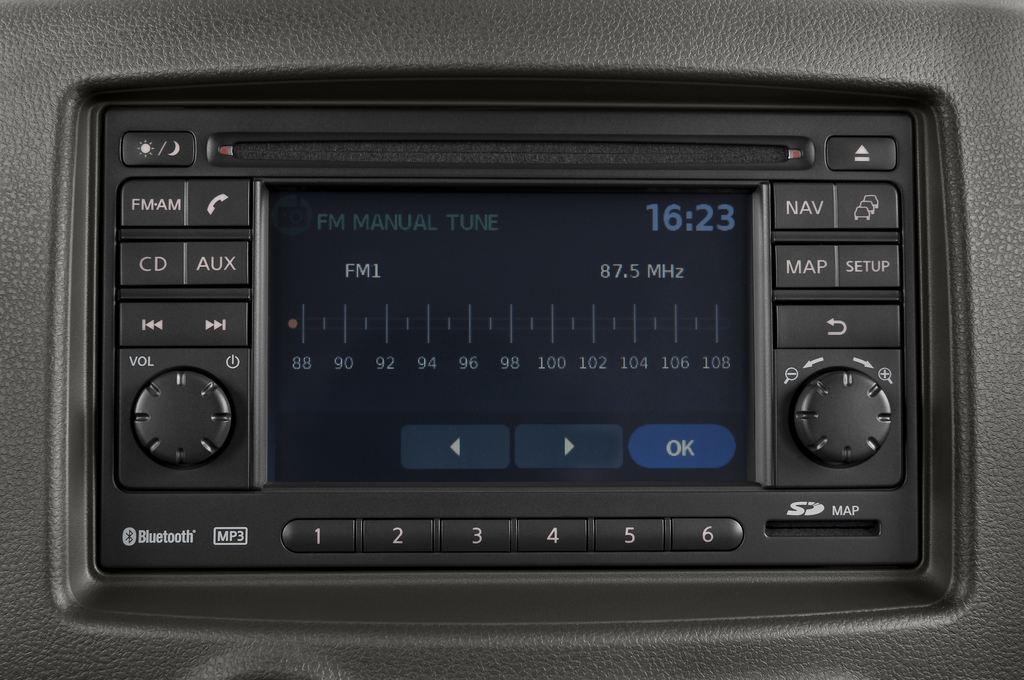 Nissan Cube Zen Van (2008 - 2011) 5 Türen Radio und Infotainmentsystem