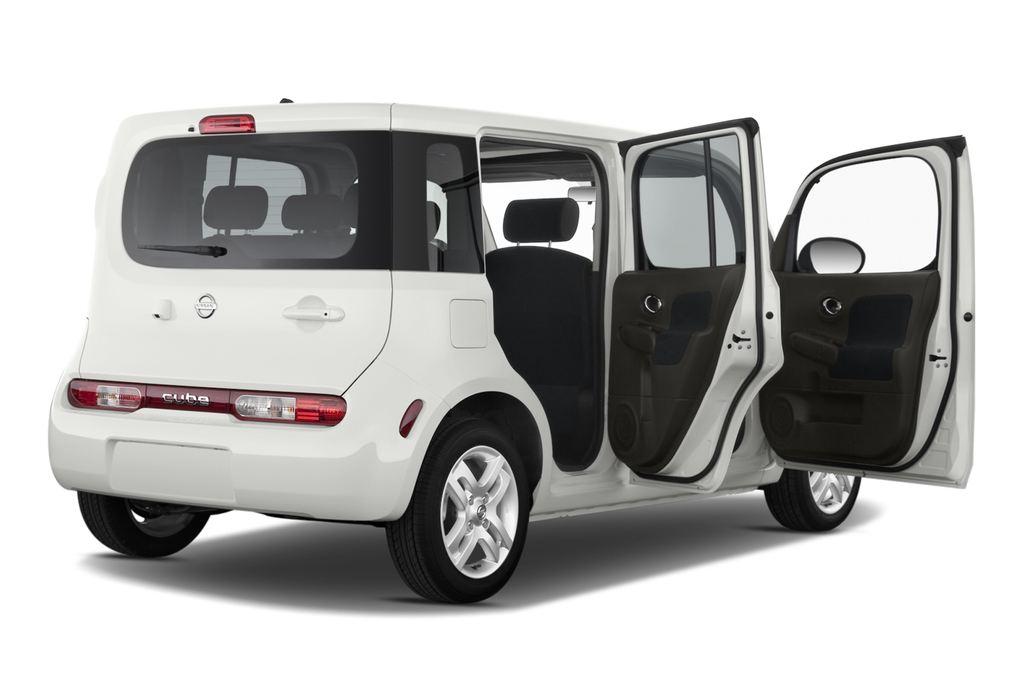 Nissan Cube Zen Van (2008 - 2011) 5 Türen Tür geöffnet