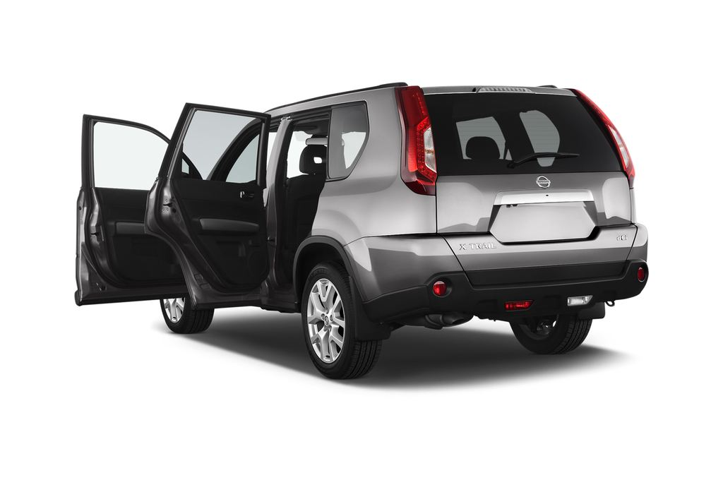 Nissan X-Trail LE SUV (2007 - 2014) 5 Türen Tür geöffnet