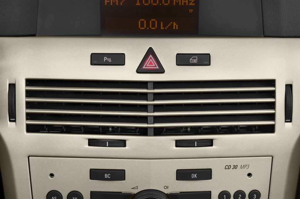 Opel Astra Endless Summer Cabrio (2005 - 2010) 2 Türen Lüftung