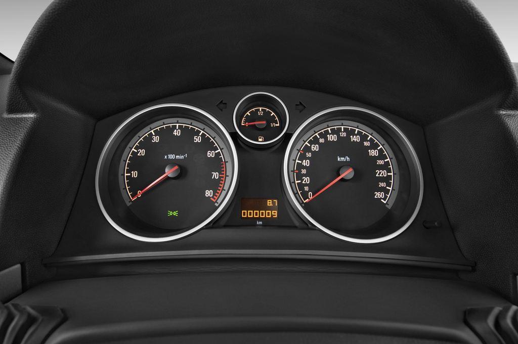 Opel Astra Endless Summer Cabrio (2005 - 2010) 2 Türen Tacho und Fahrerinstrumente