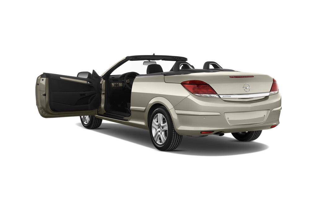 Opel Astra Endless Summer Cabrio (2005 - 2010) 2 Türen Tür geöffnet
