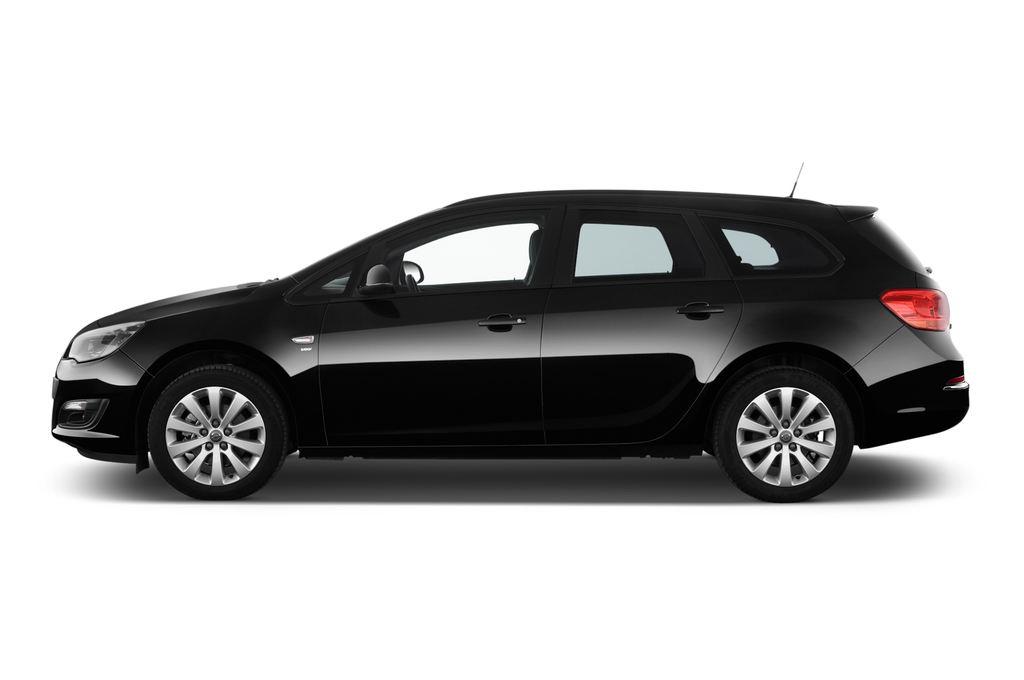 Opel Astra Style Kombi (2009 - 2015) 5 Türen Seitenansicht