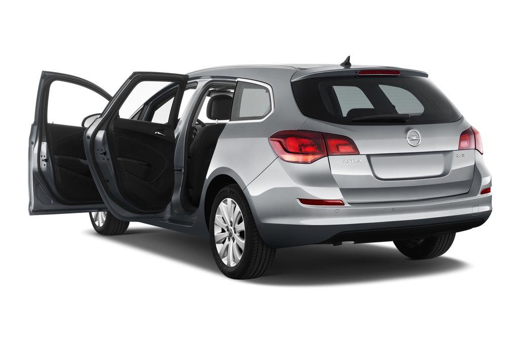 Opel Astra Sport Kombi (2009 - 2015) 5 Türen Tür geöffnet