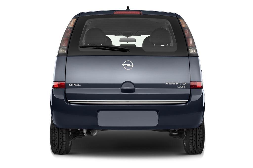 Opel Meriva Selection Van (2003 - 2010) 5 Türen Heckansicht