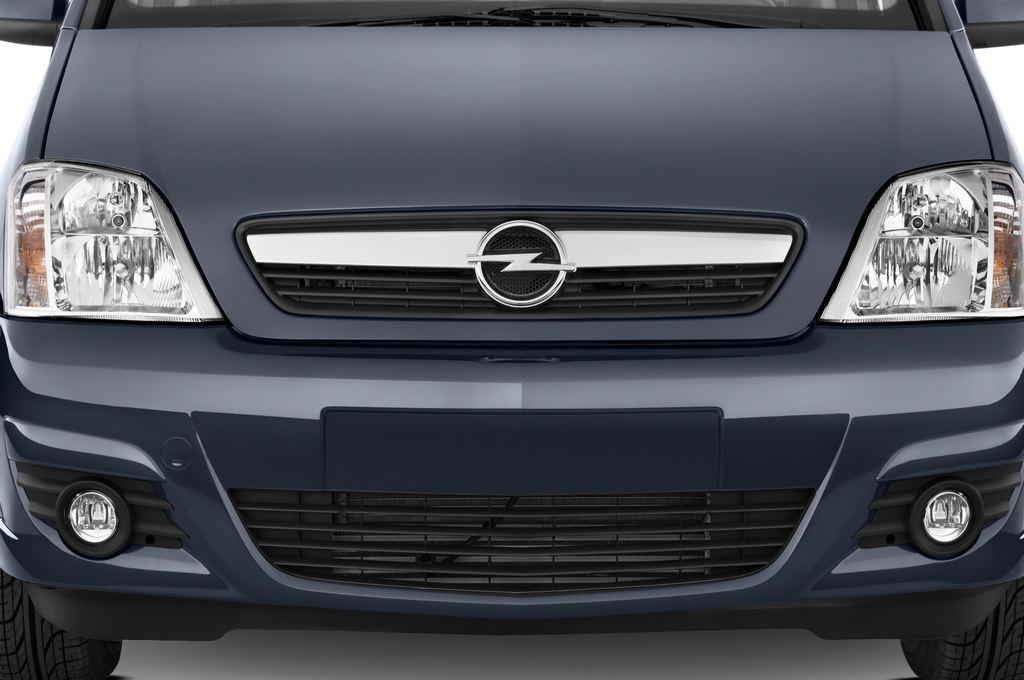 Opel Meriva Selection Van (2003 - 2010) 5 Türen Kühlergrill und Scheinwerfer