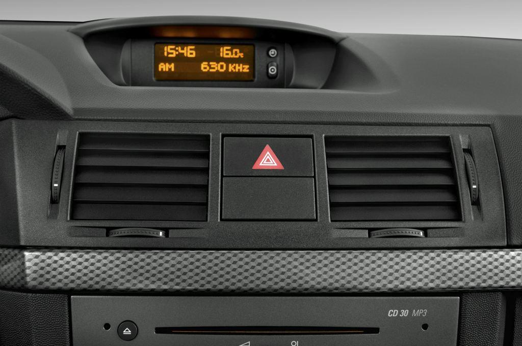 Opel Meriva Selection Van (2003 - 2010) 5 Türen Lüftung